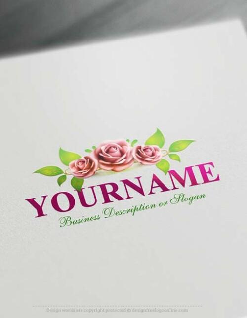 Free-logomaker-roses-Logo