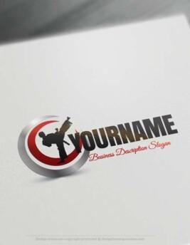 Karate-Logo-design-free-logos