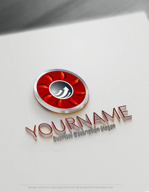 Customize this 3D Arrow Logo design with our free logo maker.