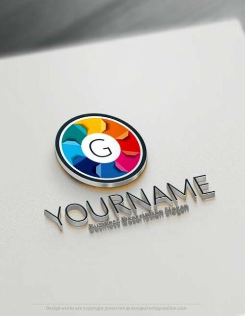 Free 3D Logo Maker - 3D Alphabets Logo