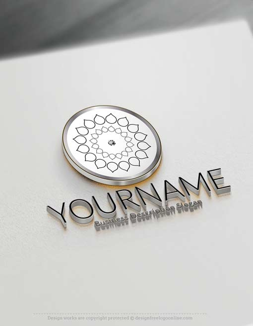 Customize this Geometric Logo design with our free logo maker.