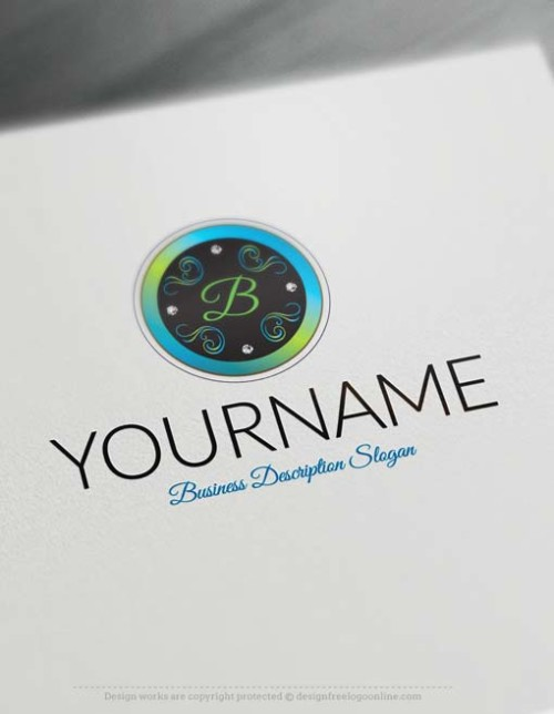 Luxurious-frame-logo-design-free-logos