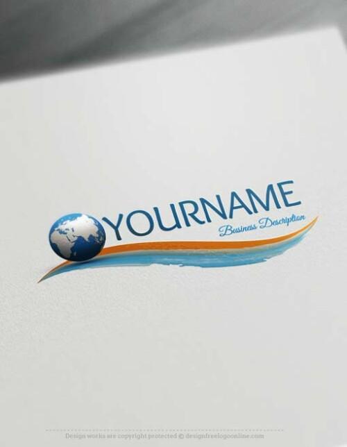 Free Logo maker - Globe Logo design