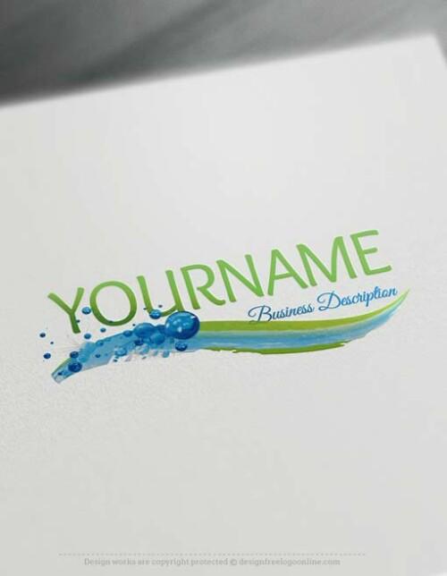 water-logo-design-free-logos