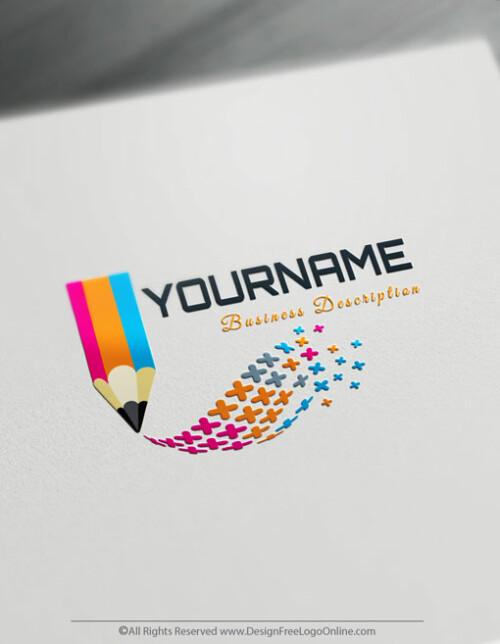 Free Logo Maker - Create Your Own Digital Pencil Logo Design Ideas