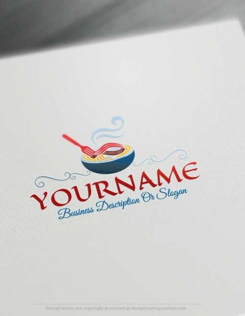 Free-logomaker-pasta-Logo