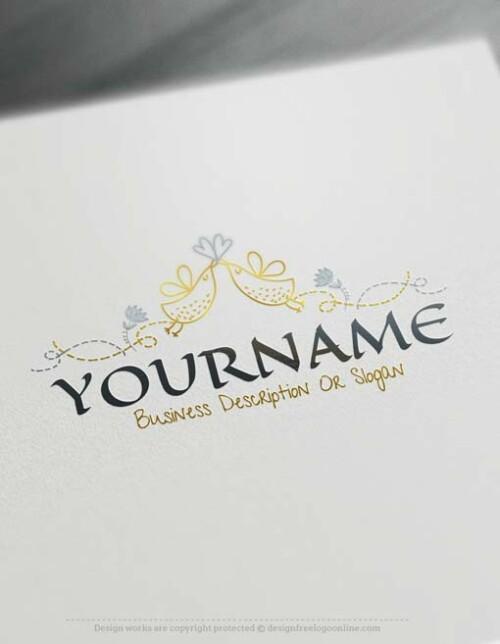 Free-logomaker-vintage-birds-Logo