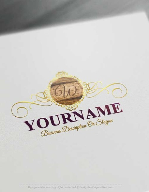 000633-Free-logo-maker-wood-Logo-design