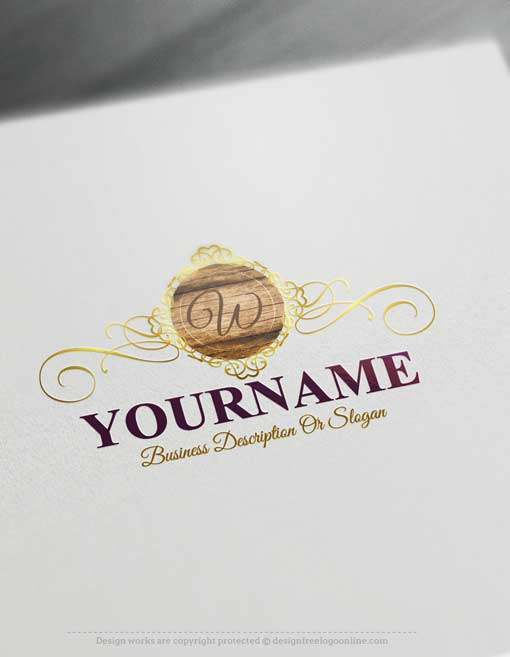 000633-Free-logo-maker-wood-Logo-design