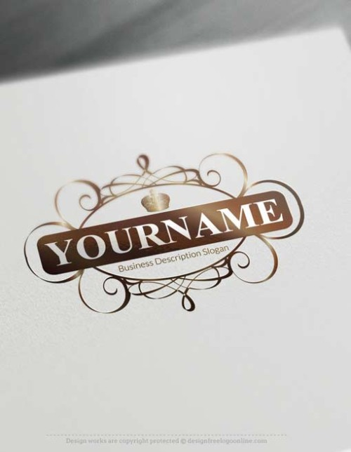 000652-Free-Logo-Maker---Decorated-Frame-Logo-design