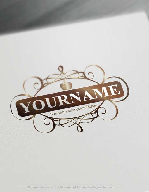 Create a logo free free logo maker decorated royal for Logo suggestions free