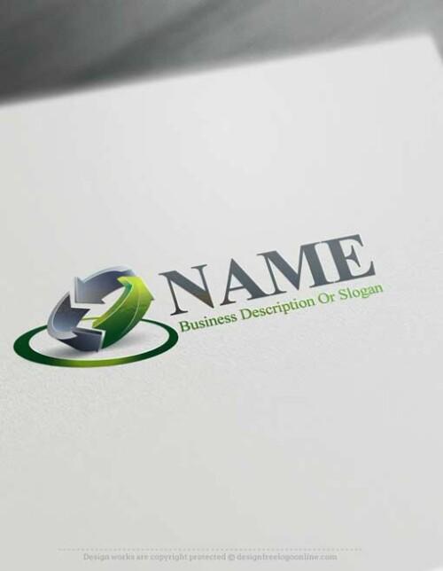 000653 free 3D Synergy Logo Design logo design free logomaker