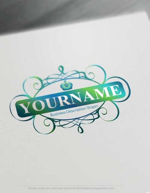 Decorated-Frame-Logo-design
