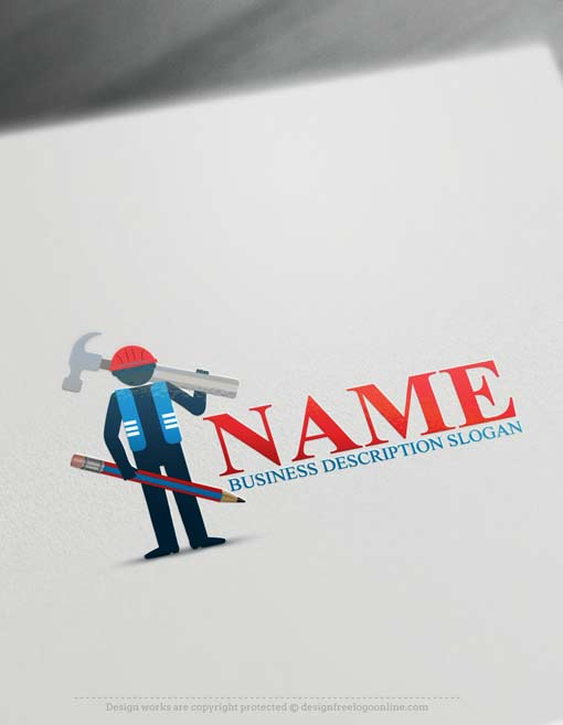 Construction logo template Constructor Logos
