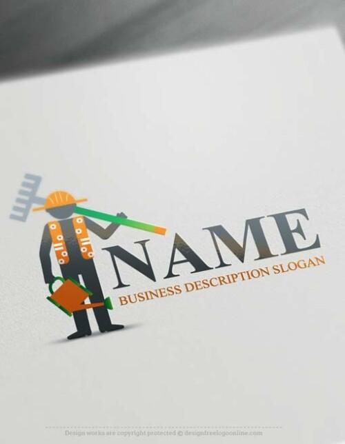 Free-logo-maker-Gardener-Logo-design
