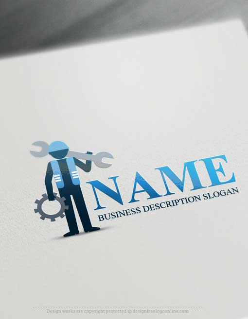 Free-logo-maker-industrial-tools-Logo-design