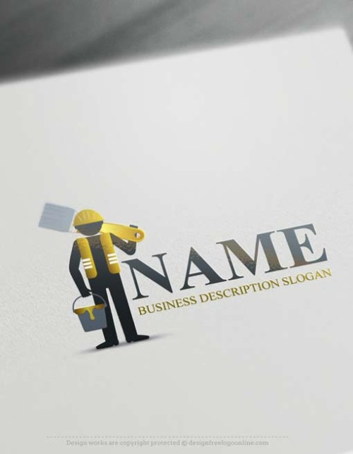 Free-logo-maker-painter-Logo-design