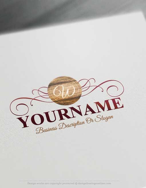Free-logo-maker-wood-Logo-designs