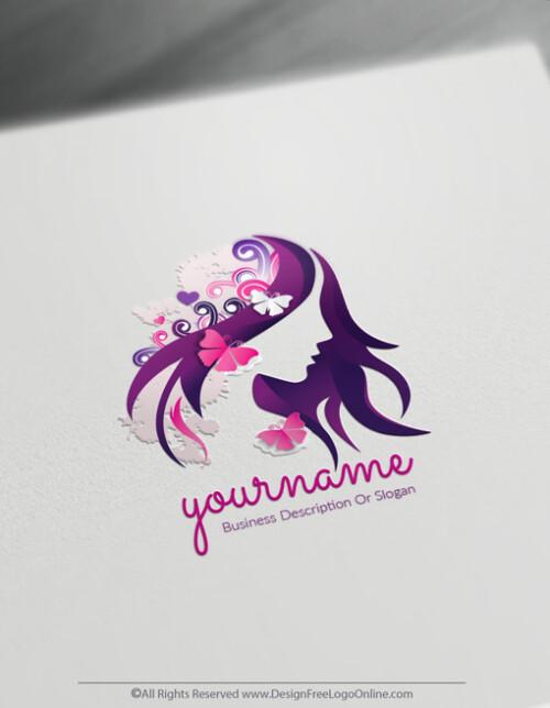 Hair And Makeup Artist Logo Design