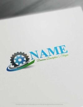 Industrial-gear-logo-design-free-logomaker