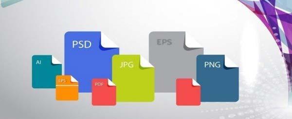 Formatos de archivos populares para logos
