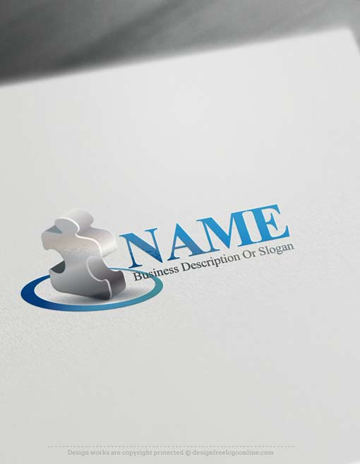 Puzzle-logo-design-free-logomaker