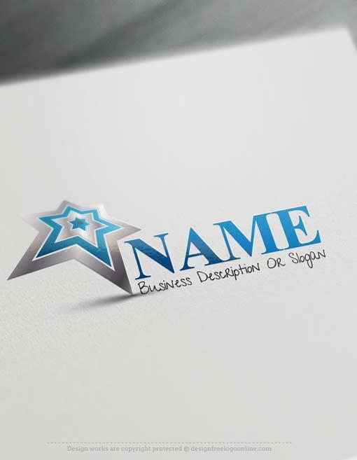Design Free Logo Online - Star Logo template