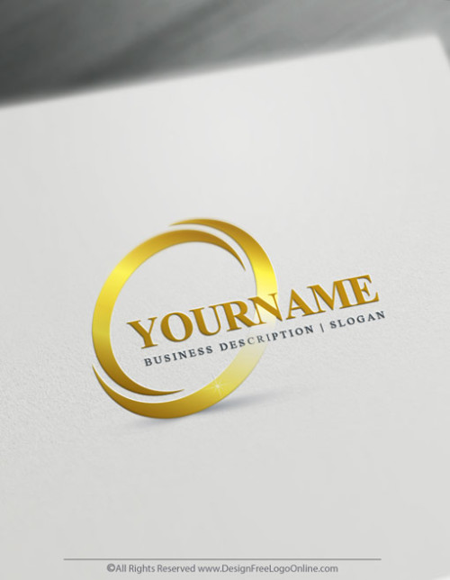 Gold Logo Maker - Create your own spiral logo online
