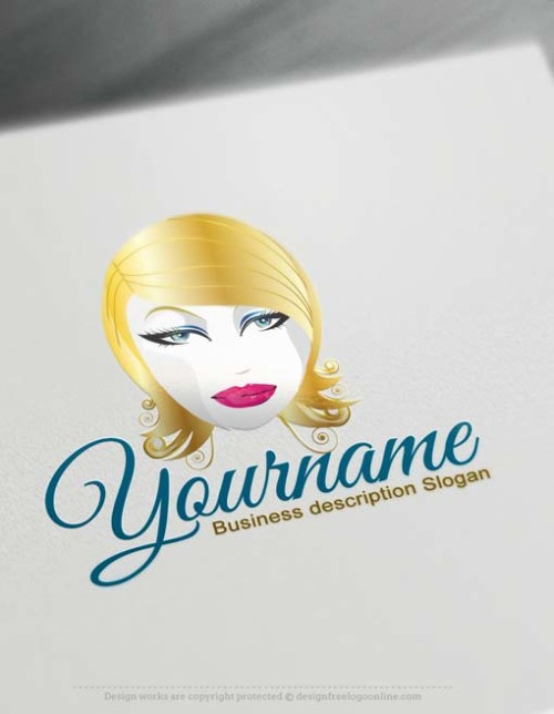 makeup-Logo-online-logomaker