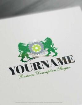 Free Online Logo Maker Software Industrial Logo designs