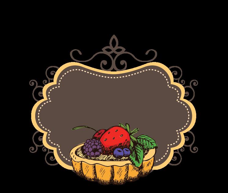 Online Free Logo Maker Fruit Tart Logo Template