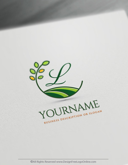 Green Eco Gardener Logos