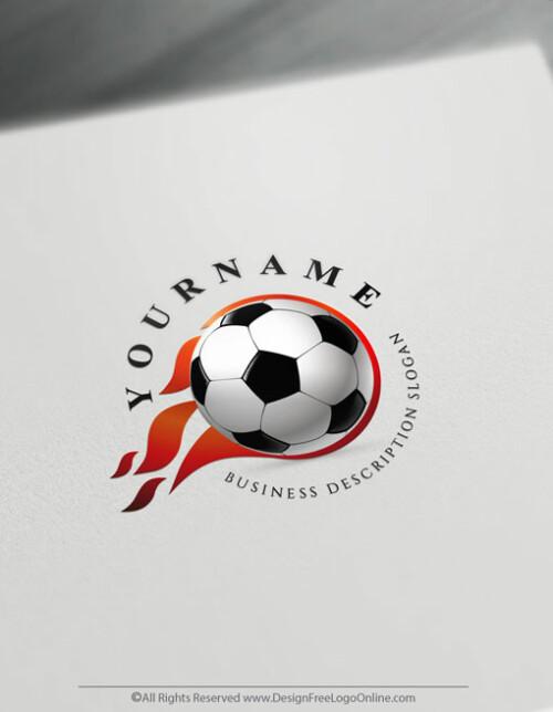 best footballlogo maker. customize your Soccer Team branding