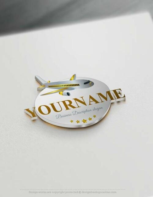 000678-Free-logo-maker-airplane-Logo-Templates