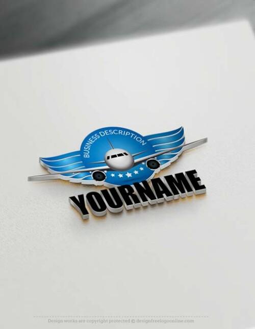 000679-Free-logo-maker-Aircraft-Logo-Templates
