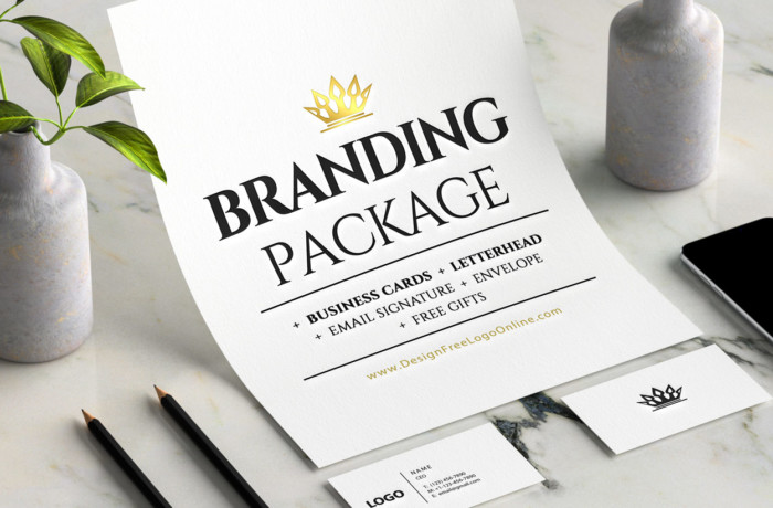 BRANDING PACKAGE Business Cards Letterhead Email signature Envelope