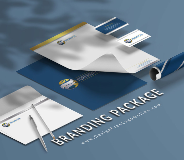 Custom Made Branding Design Package - Business Cards, Letterhead