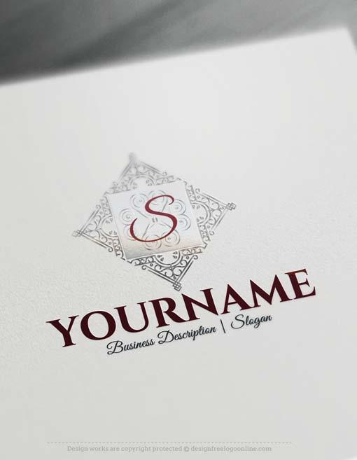 Free-Logo-Maker---Elegant-Frame-Logo-design