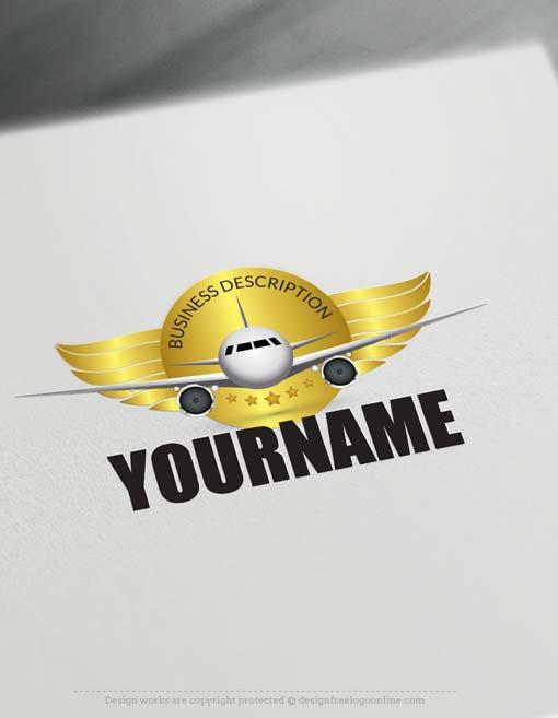 Aircraft Logo design - Create a Logo Online with our Free Logo Maker