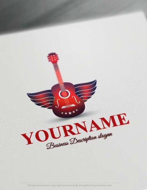 Free-logo-maker-guitarl-Logo-Templates