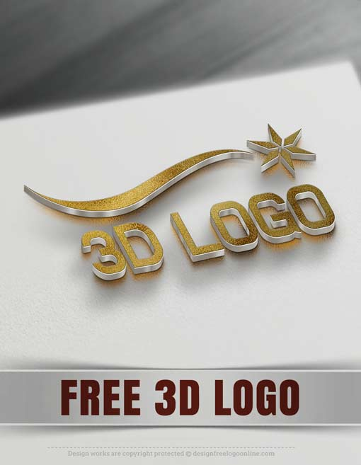 Custom logo design graphic design packages for Create logo online free 3d