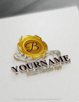 Free logo maker wax seal Logo Templates