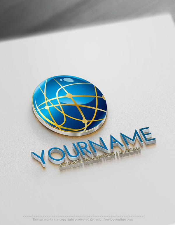Online free logo maker 3d logo design create 3d logos for Make 3d design online