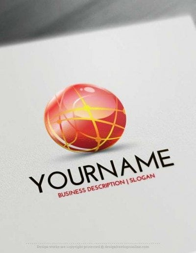 Outstanding 3d logo designs collection from design free Online 3d design maker
