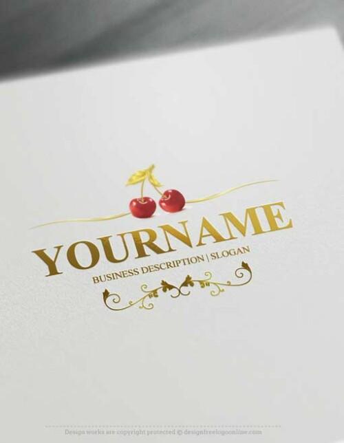 Cherries-logo-maker