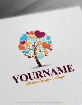 hearts-tree-logo-design-free-logo-maker