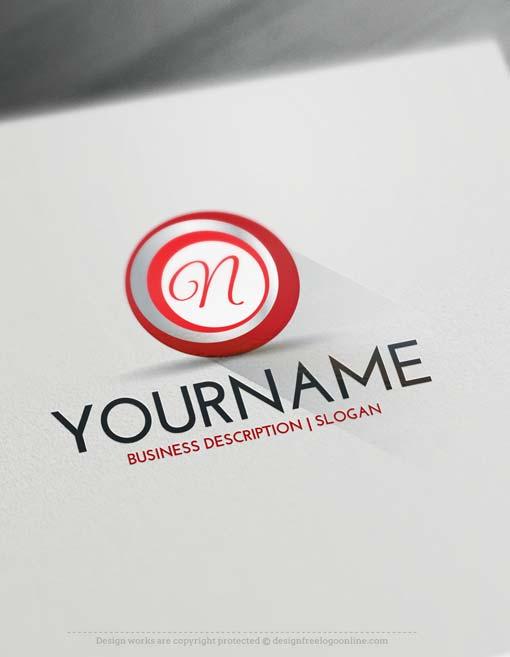 3D Spiral Logo design free logo maker