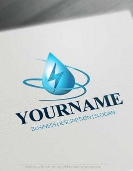 Online Free Logo Maker Power Logo Design