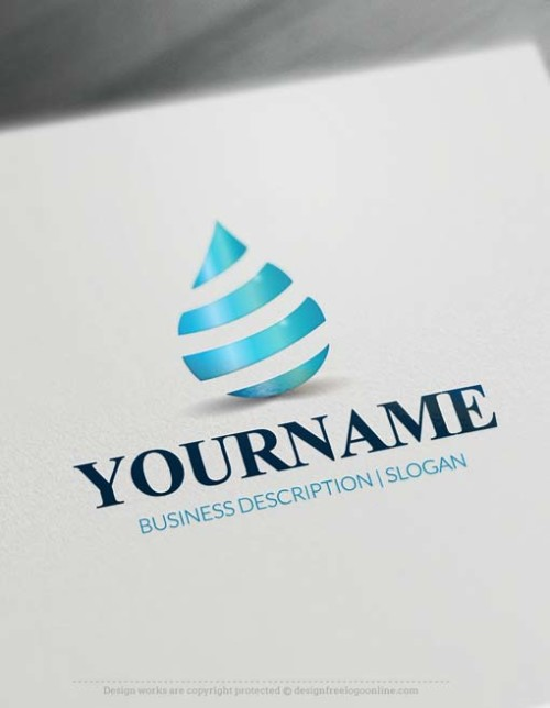 000702-online-water-drop-logo-free-logo-maker