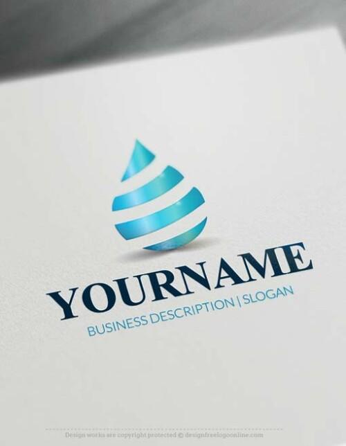 000702-online-water-drop-logo-free-logo-maker